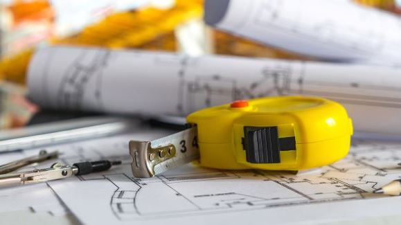 Tape Measure on plans